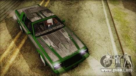 GTA 5 Faction LowRider DLC para la visión correcta GTA San Andreas