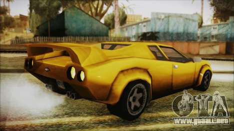 Vice City Infernus para GTA San Andreas left