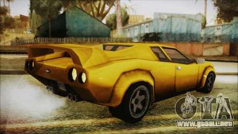Vice City Infernus para GTA San Andreas left