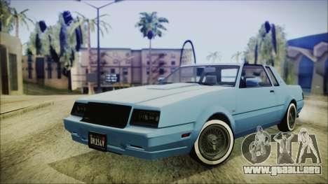 GTA 5 Willard Faction Custom IVF para GTA San Andreas