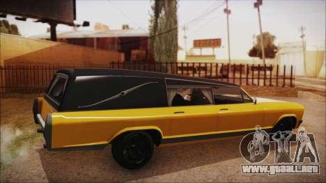 GTA 5 Albany Lurcher IVF para GTA San Andreas left
