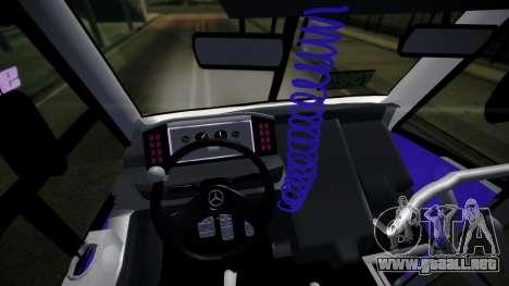 Mercedes-Benz Ayco Zafiro Influyente para la visión correcta GTA San Andreas