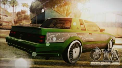 GTA 5 Faction LowRider DLC para GTA San Andreas left