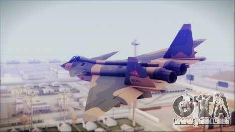 Mikoyan MIG 1.44 Flatpack Venezuelan Air Force para GTA San Andreas left