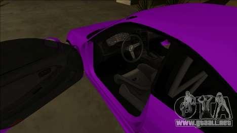 Toyota MR2 Drift para la vista superior GTA San Andreas