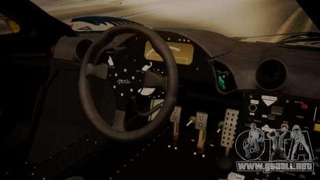 McLaren F1 GTR 1998 HarmanKardon para la visión correcta GTA San Andreas