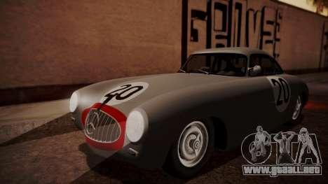 Mercedes-Benz 300 SL (W194) 1952 HQLM para la vista superior GTA San Andreas