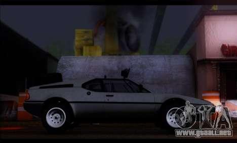 BMW M1 E26 Rusty Rebel para GTA San Andreas left