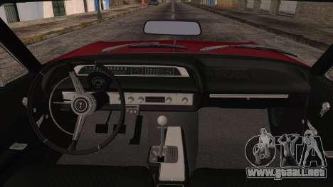 Chevrolet Impala SS 1964 Final para vista lateral GTA San Andreas