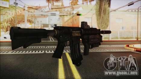 M4 SpecOps para GTA San Andreas segunda pantalla