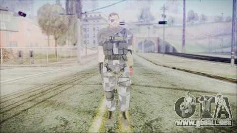 MGSV Phantom Pain Snake Scarf Square para GTA San Andreas segunda pantalla