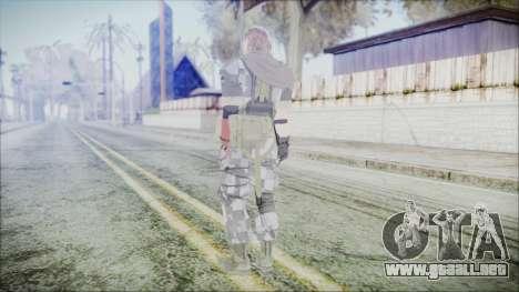 MGSV Phantom Pain Snake Scarf Square para GTA San Andreas tercera pantalla