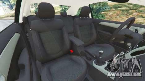 GTA 5 Kia Forte Koup SX [Beta] vista lateral derecha