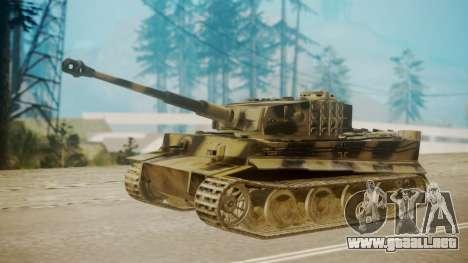 Panzerkampfwagen VI Tiger Ausf. H1 para GTA San Andreas