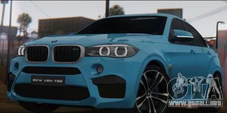 BMW X6M F86 v2.0 para GTA San Andreas