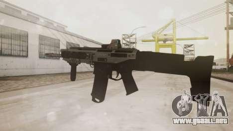 Bushmaster ACR Silver para GTA San Andreas segunda pantalla