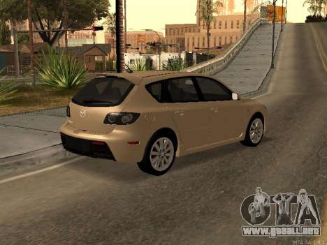 Mazda 3 MPS Tunable para GTA San Andreas left