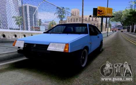 VAZ 2108 V2 para la vista superior GTA San Andreas