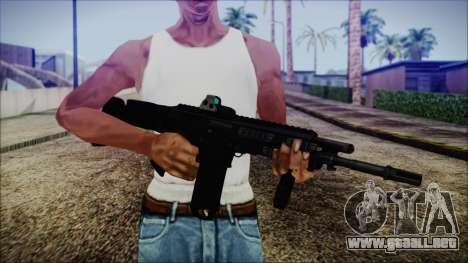 Bushmaster ACR para GTA San Andreas tercera pantalla