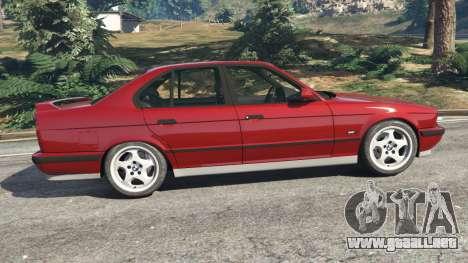 GTA 5 BMW M5 (E34) 1991 vista lateral izquierda