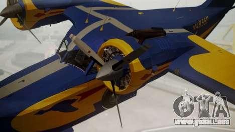 Grumman G-21 Goose N48550 para la visión correcta GTA San Andreas