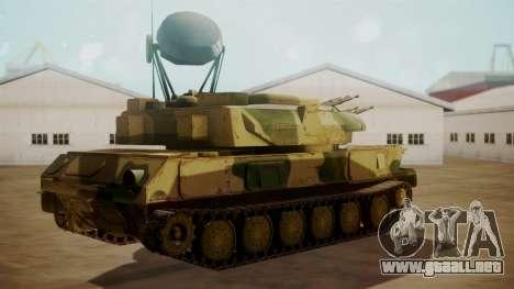 ZSU-23-4 Shilka para GTA San Andreas left