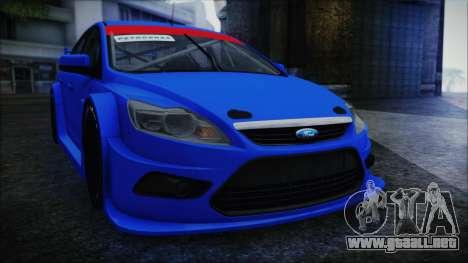 Ford Focus Sedan 2009 Touring v1 para la visión correcta GTA San Andreas