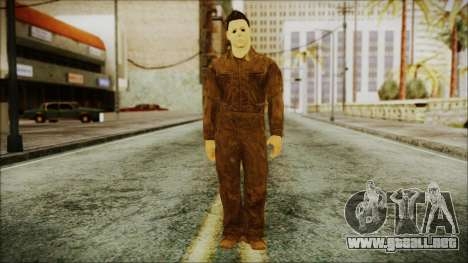 Michael Myers Movie Halloween para GTA San Andreas segunda pantalla