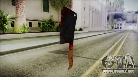 Helloween Butcher Knife Square para GTA San Andreas