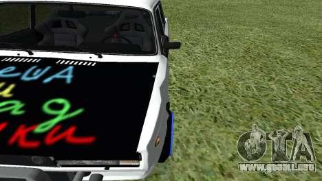 VAZ 2105 Bq Final para visión interna GTA San Andreas