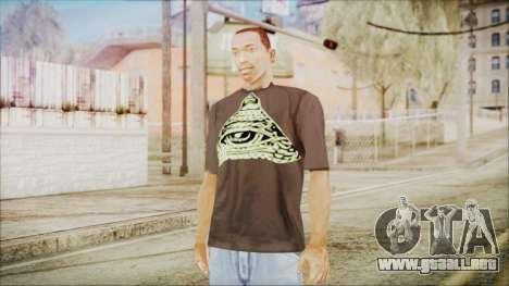 Illuminati T-Shirt para GTA San Andreas