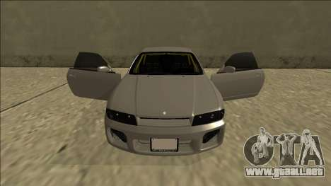 Nissan Skyline R33 Drift para GTA San Andreas interior