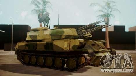 ZSU-23-4 Shilka para GTA San Andreas