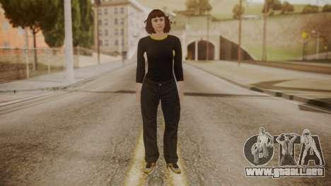 GTA Online - Custom Girl (Lowrider DLC Clothes) para GTA San Andreas segunda pantalla