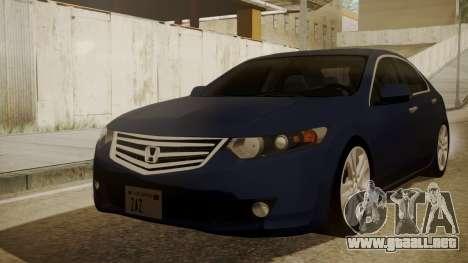Honda Accord 2010 para GTA San Andreas
