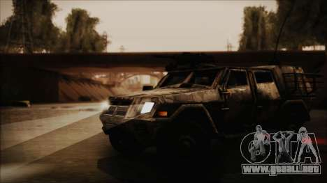 Joint Light Tactical Vehicle para la visión correcta GTA San Andreas