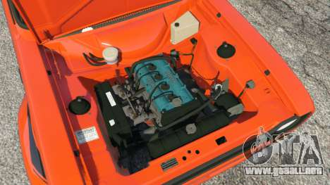 GTA 5 Ford Escort MK1 v1.1 [HRE] vista lateral trasera derecha
