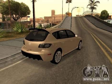 Mazda 3 MPS Tunable para la visión correcta GTA San Andreas