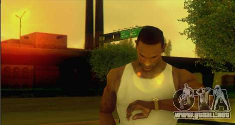 Watches Mod para GTA San Andreas segunda pantalla