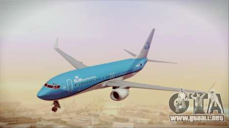 Boeing 737-800 KLM Royal Dutch Airlines para GTA San Andreas