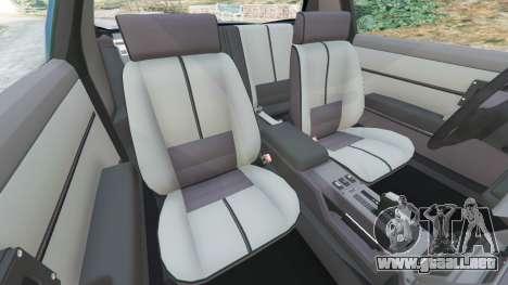 GTA 5 Chevrolet Camaro IROC-Z [Beta 3] vista lateral derecha