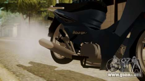 Honda Wave para la visión correcta GTA San Andreas