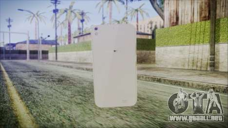Claresta S5 para GTA San Andreas segunda pantalla
