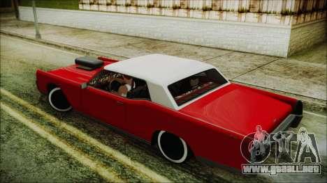 GTA 5 Vapid Chino Custom IVF para GTA San Andreas left