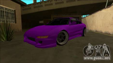 Toyota MR2 Drift para GTA San Andreas vista hacia atrás