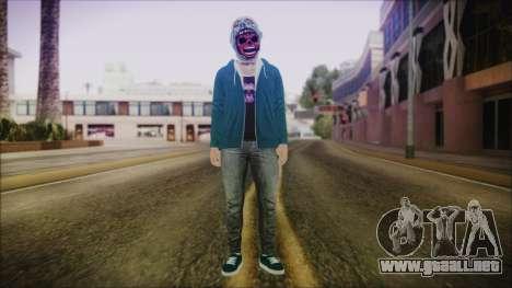 DLC Halloween GTA 5 Skin 1 para GTA San Andreas segunda pantalla