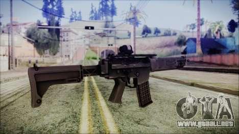 AK 5C para GTA San Andreas segunda pantalla