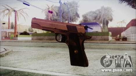 Original Colt 45 HD para GTA San Andreas tercera pantalla