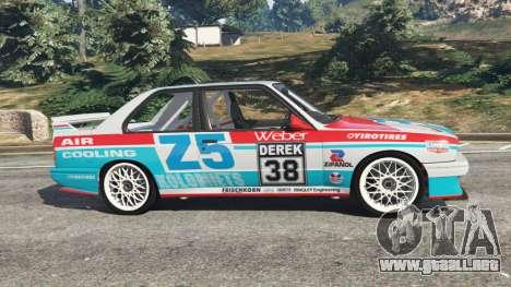GTA 5 BMW M3 (E30) 1991 [Z5] v1.2 vista lateral izquierda