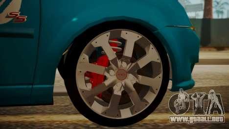 Chevrolet Meriva de Seguridad Vial para la visión correcta GTA San Andreas